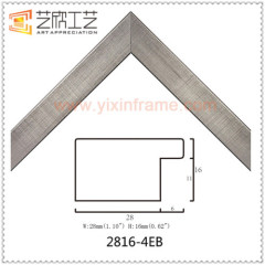 Small Wood Color Custom Picture Frame Molding