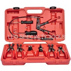 9pcs Flexible Hose Clamp Pliers Tool Set