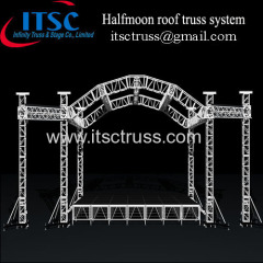 Halfmoon roof truss system updated in rental business
