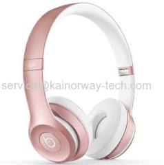 Beats Solo2 Special Edition Wireless Bluetooth Headphone Headbands Rose Gold