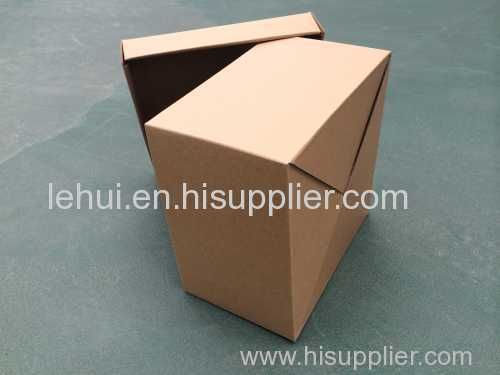 one piece self lock box F flute craft gift packaging box storage paper box small box craft