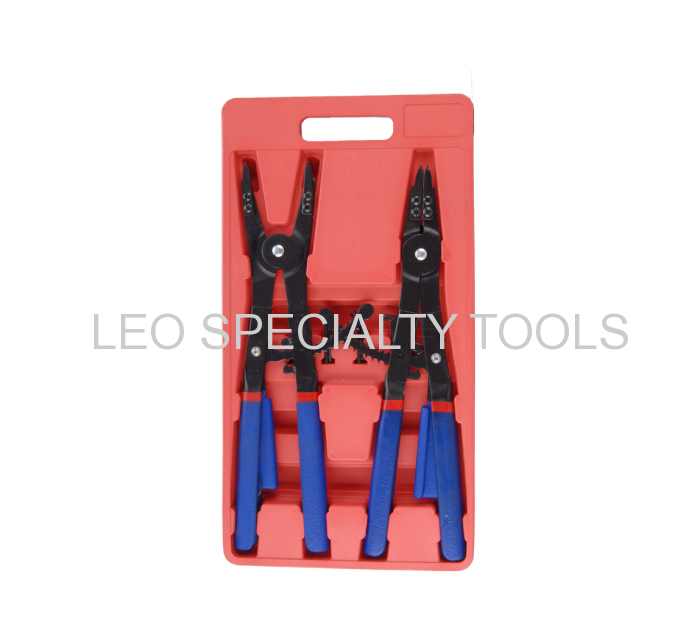 "2 pcs 16/"" Snap Ring Circlip Pliers H-D Ratchet type Tools"