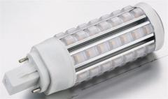 7W G24 LED Plug Light Φ41×128mm 56pcs SMD2835 650Lm