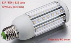 13W E27 LED Plug Light Corn Lamp Φ51×136mm 1100Lm Beam 360°