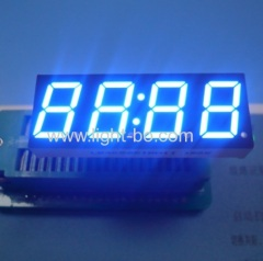 "4 dgiit 0.56"" led clock display; 4 digit 0.56"" blue led display; blue led clock display"