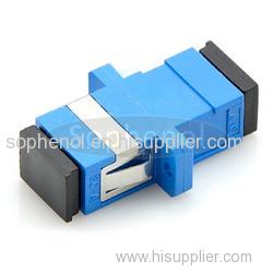 SC-SC Singlemode Simplex Plastic Fiber Optic Adapter