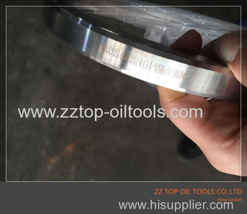 SS316 Ring gasket for wellhead and control as per API 6A