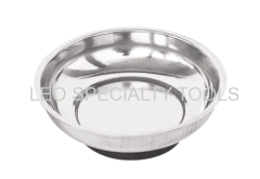 Extra-Strong Magnetic Parts Dish with Non-Scratch PVC Bottom