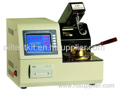 Automatic Cleveland Open Cup Flash Point Meter for oil/ open cup flash point laboratory equipment
