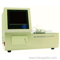 Automatic Low Temperature Flash Point Rapid Tester