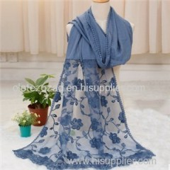 Fashion Lace Scarf To Show The All Charm Of Lady
