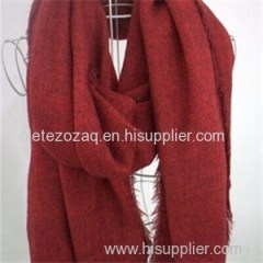 Imitation Cashmere Solid Scarf