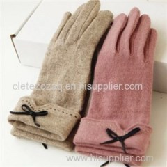 Cashmere Lady Gloves Product Product Product