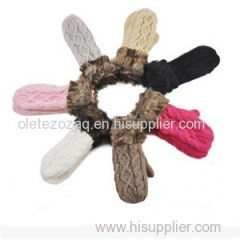 Knitted Warm Gloves Product Product Product