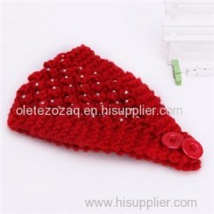 Knitted Headband With So Many Kinds Accessories Attached