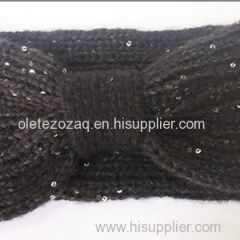 Fashion Headband With Paillette Or Special Yarn