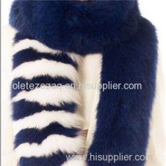 Solid Faux Fur Scarf