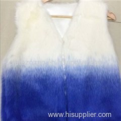 Faux Fur Waistcoat Product Product Product