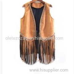 Beautiful Suede Waistcoat Product Product Product