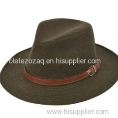 Fashion Felt Cap With Well-bred Temperament