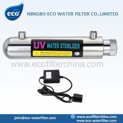 único esterilizador UV extremidade aberta