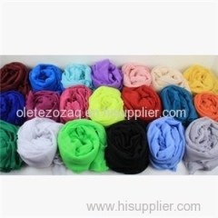 Polyester Solid Scarf For All Ege Group With So Many Colors To Choose