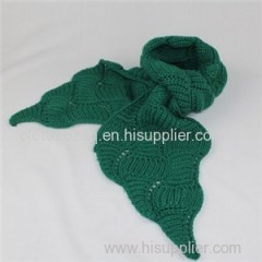 Simple Solid Weave Scarf