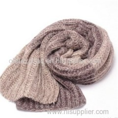 Weave Soft Mohair Scarf