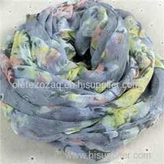 Viscose Printed Scarf Product Product Product