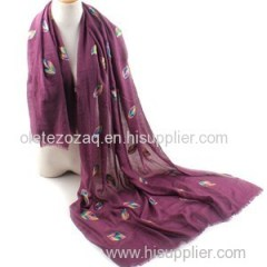 TR Embroider Scarf Product Product Product
