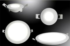 Recessed Round 24W LED Panel Light SMD2835 6W-24W