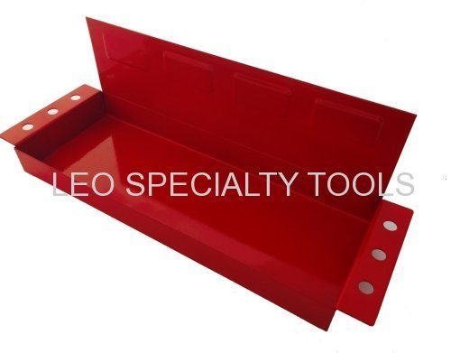 Magnetic Tool Storage Holding Tray Shelf with Screwdriver Holder
