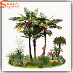 Artificial Plants Green Leaves Artificial Cyathea Garden Palm Trees