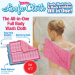 Easy Reach Loofa Cloth of The All in One Full Body Wash Cloth 2 Pack