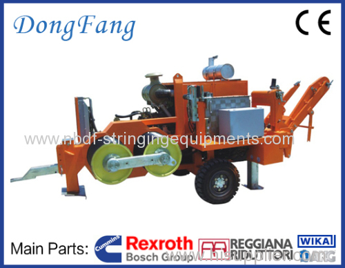 18 Ton Overhead Transmission Line Conductor Puller Machine with Germany Rexroth Pump