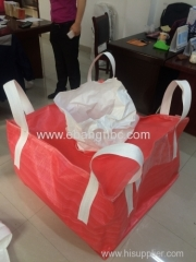 big bag with PE liner for packing electrode material