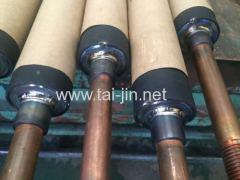 MMO tubular cyclone type anodes in cooper etching waste liquor recovery
