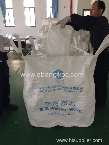 Customized FIBC ton bag for packing chemical powder