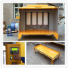 electrostatic powder coating booth system with PLC control unit