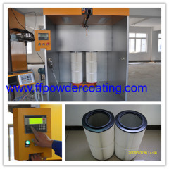 Electrostatic Powder Coating Cabinet with 2 Filters