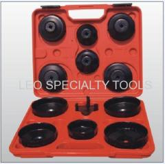 13pcs Cap Type Oil Filter Wrench Set