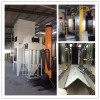 stainless steel powder coating station