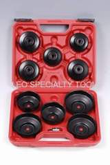 11 pcs Cup oil Filter Wrench Socket Set