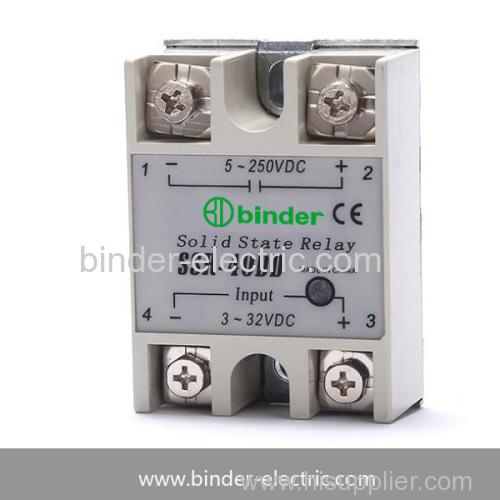 SSR-40DD SSR-25DD SSR-10DD Single phase DC to DC solid state relay