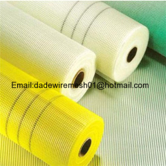 Fiberglass mesh fabrics for building construction