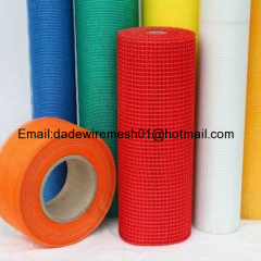 C-glass fiberglass mesh used for construction