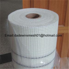 C-glass/E-glass color coated alkali free fiberglass mesh