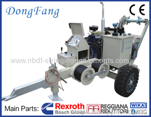 Pl 3 Hydraulic Post Puller : Ton overhead power lines hydraulic conductor winch
