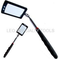 Two LED Retractable Inspection Mirror