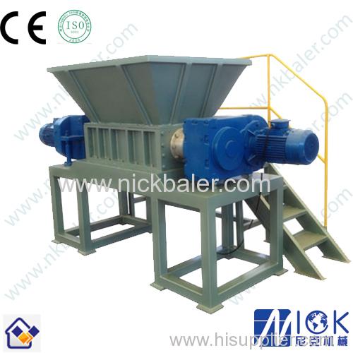 plastic film shredder/film shredder machine/single shaft shredders